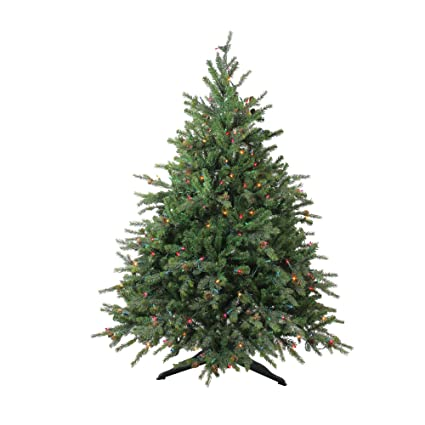 Image Unavailable. Image not available for. Color: 4.5' Pre-Lit Hunter Fir  Full Artificial Christmas Tree ... - Amazon.com: 4.5' Pre-Lit Hunter Fir Full Artificial Christmas Tree