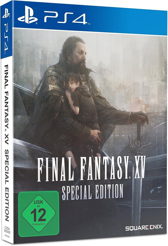 Final Fantasy XV Steelbook Edition - PlayStation 4 [Importación alemana]: Amazon.es: Videojuegos