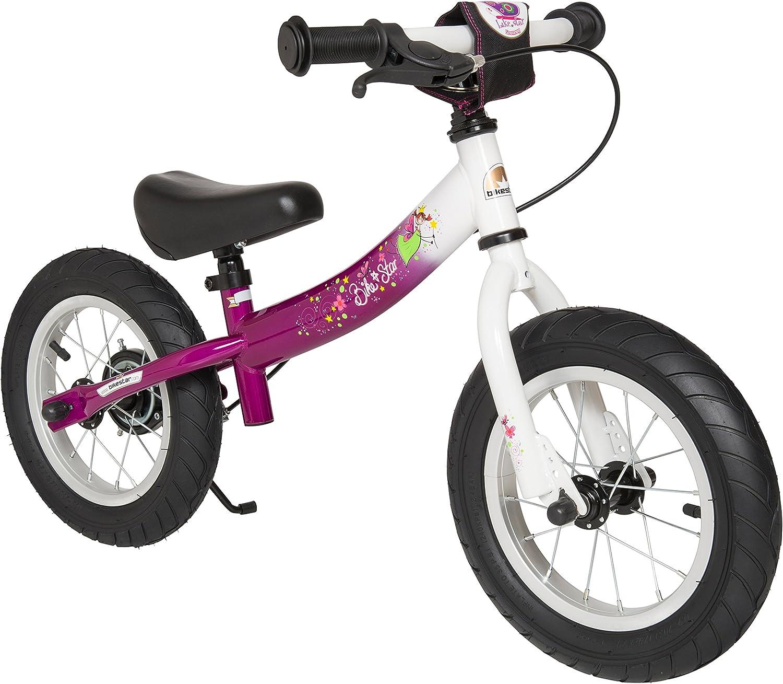 Bikestar - Bicicleta de Equilibrio con Estribo Lateral y Freno ...