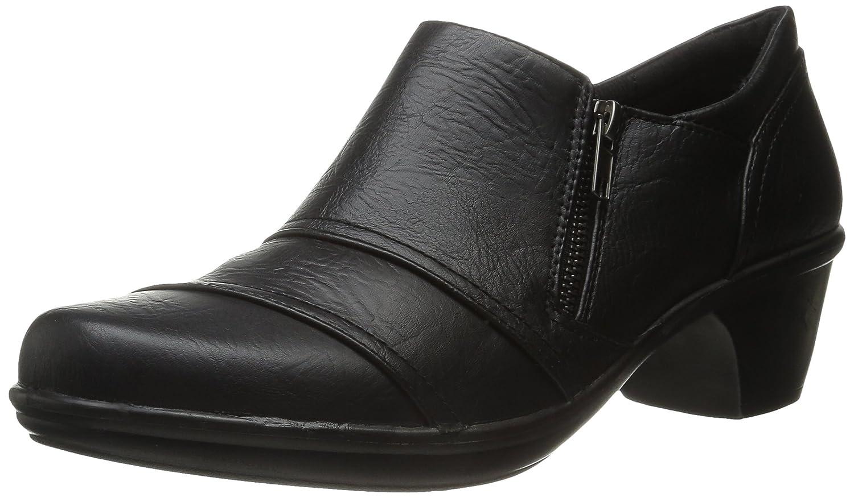 Easy Street Women's Bryson Boot B00YHPEB3G 9 B(M) US|Black Burnish/Gore