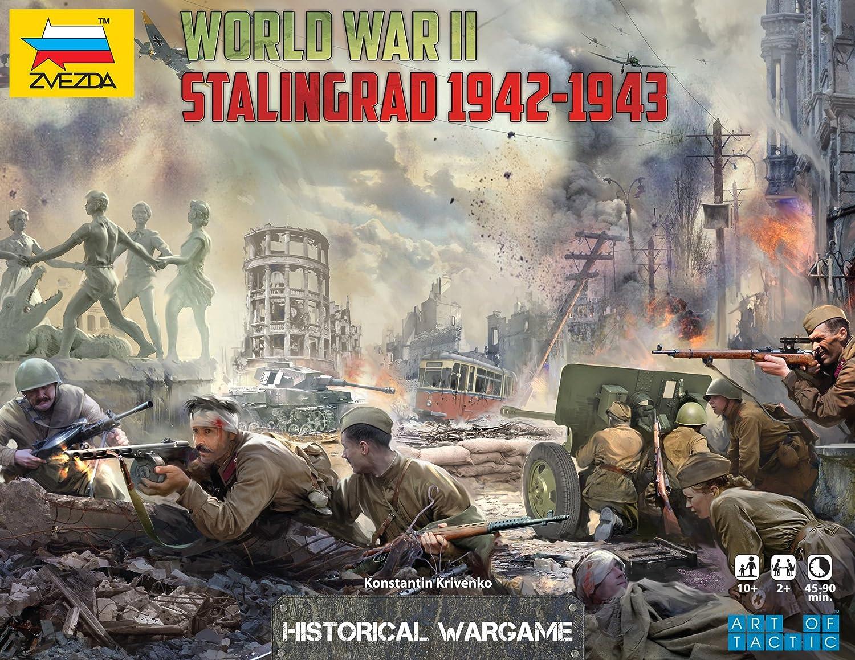Zvezda 500786260 - Battle Brettspiel Battle - Of Stalingrad 70a286