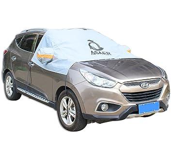 Amazon.es: asaer Premium parabrisas coche cubierta de nieve - Ultra Durable resistente a la intemperie diseño - protege parabrisas limpiaparabrisas, ...