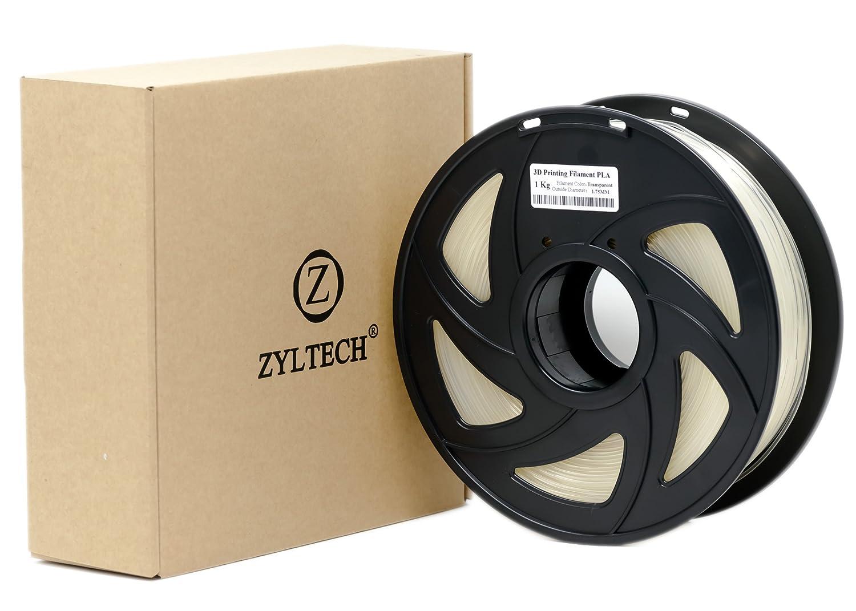 Zyltech Filamento para impresora 3D, PLA, 1,75 mm, 1 kg ...