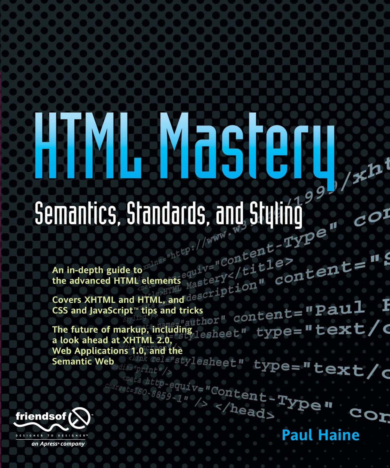HTML Mastery