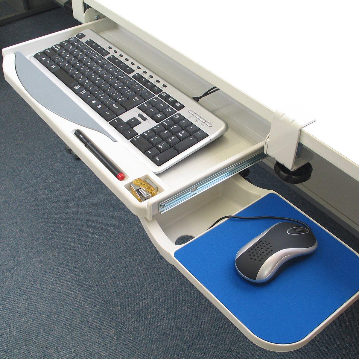 tray drawer for new under ideas lovely of desk underdesk keyboard