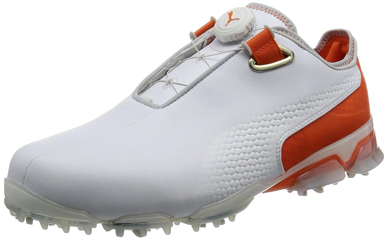 [プーマゴルフ] ゴルフシューズ TT IGNITE Premiium DISC JP 189626 B01N6Q925L 25.0 cm プーマ ホワイト/プーマ ホワイト/ビブラント オレンジ