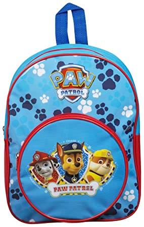 Paw Patrol Childrens Kids Holiday School Bag Backpack With Pocket ...