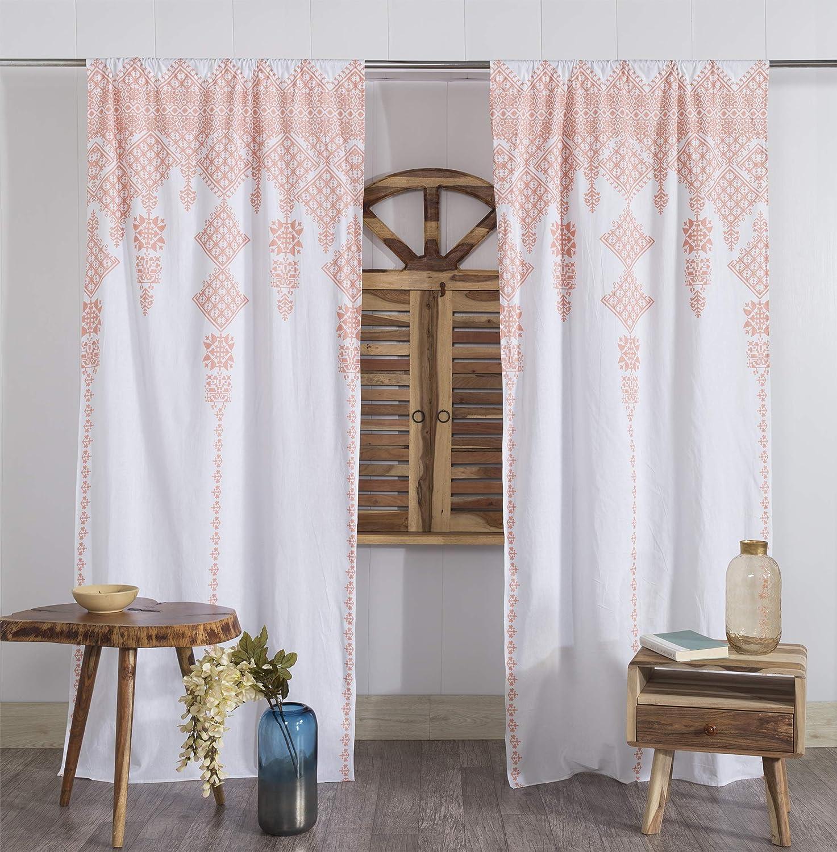 Mandala Window Curtain Rod Pocket Curtain Living Room Decor Bohemian Curtain Boho Window Curtain Boho Chic Curtain