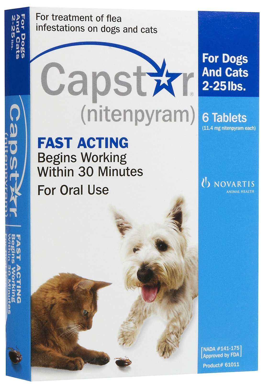 Novartis Capstar Flea Treatment