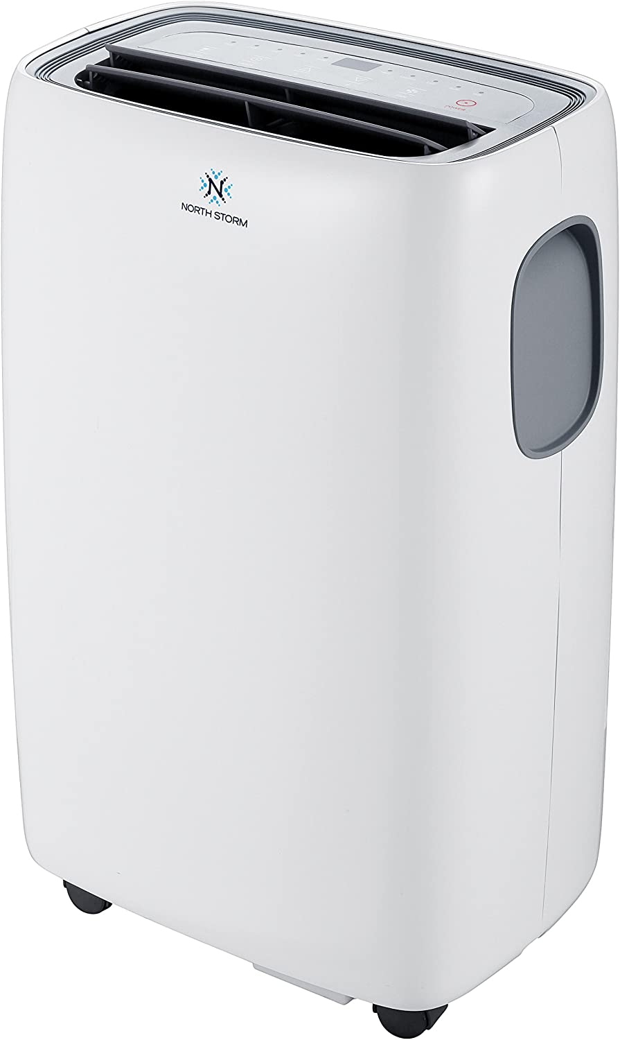North Storm 8,000 BTU 3-in-1 Portable Air Conditioner, Remote Control, High Efficiency, 8000, White