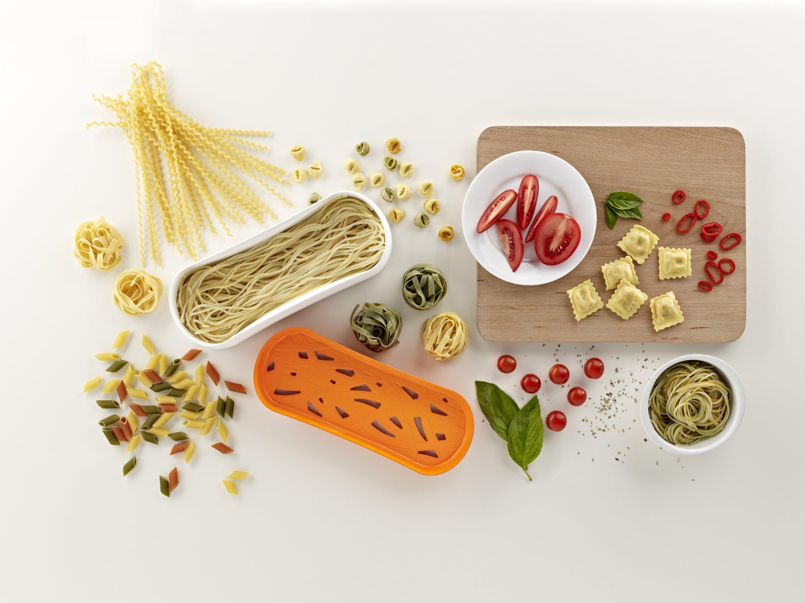 Lekue Pasta Cooker, Model # 0200702N07M017, Orange by Lekue (Image #7)