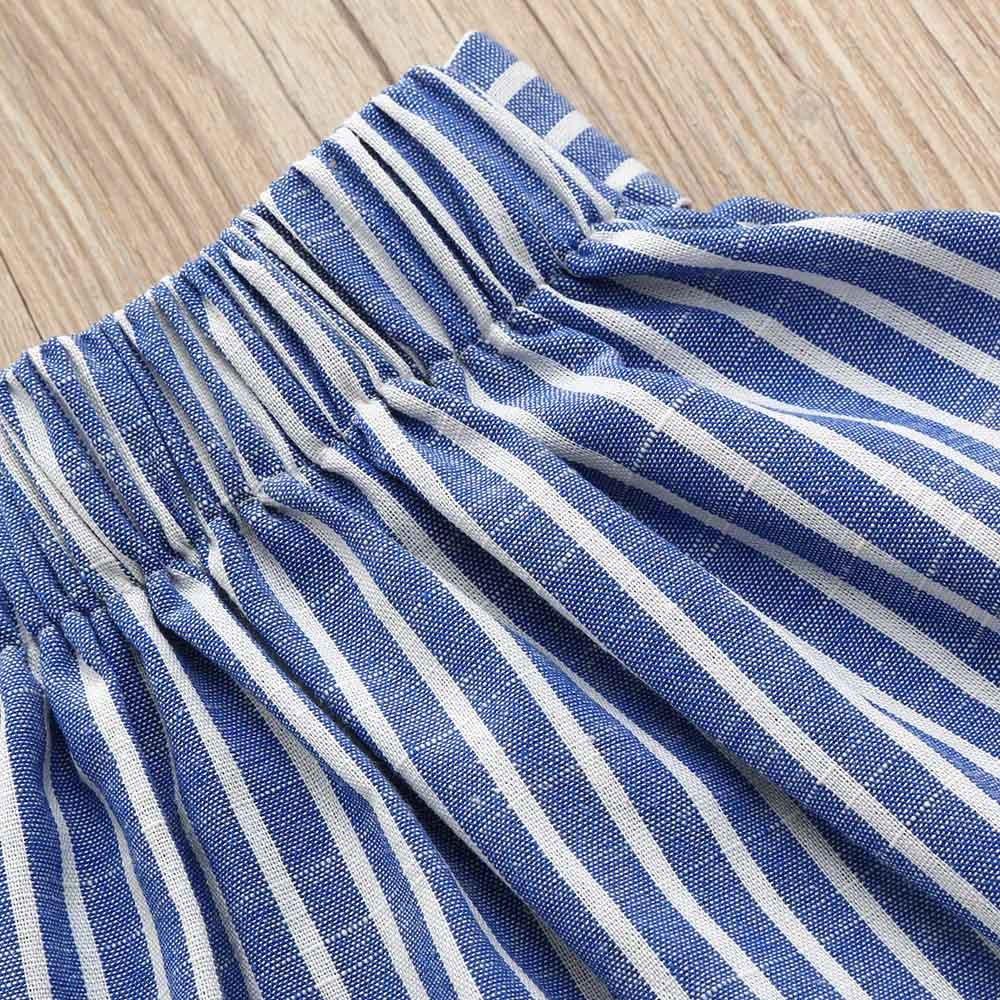 Ensemble Fille pour 1-5 Ans B/éb/é Fille Vetement Bebe Fille Costume Habit B/éb/é Fille Ensemble Jupe et Haut Vetement Fille Ete Tee Shirt Fille Jupes B/éb/é Fille