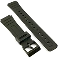 F91W cinturino per orologio–Made to fit Casio f-91W Generic nero alternative Style Band 18mm F91