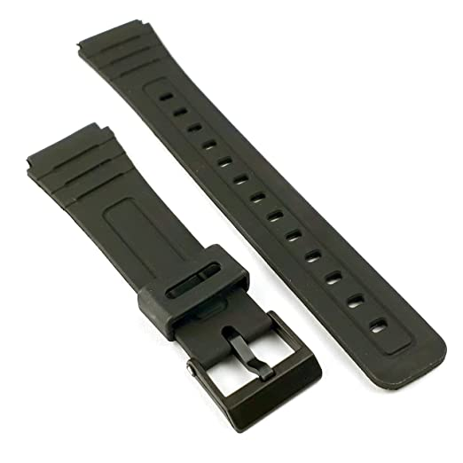 Correa de repuesto genérica para reloj Casio F91, F91W o F91-W (18 mm).: Amazon.es: Relojes