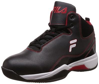 Fila Men's Ukindia Plus Red Black Basketball Shoes And Montana 11 7gyIY6bfv