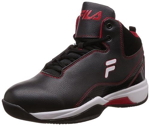 Montana And Men's Black 11 Basketball Fila Plus Ukindia Shoes Red NO0Xk8nwP