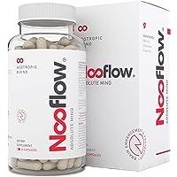Nooflow Absolute Mind Integratore per Cervello Premium | Per Concentrazione, Memoria, Apprendimento, Umore, Energia e Salute Cerebrale | 100% Fusione Nootropica Vitamine e Estratti d'erbe | 60 Pillole