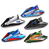 Paper Wings Pre-Made Paper Airplanes, 20 Pack, 5 Different Colorful Designs For Folds of Fun, Pre-Folded, Indoor & Outdoor Fun For Kids
