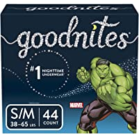 Goodnites Bedwetting Underwear for Boys, Small/Medium, 44 Ct