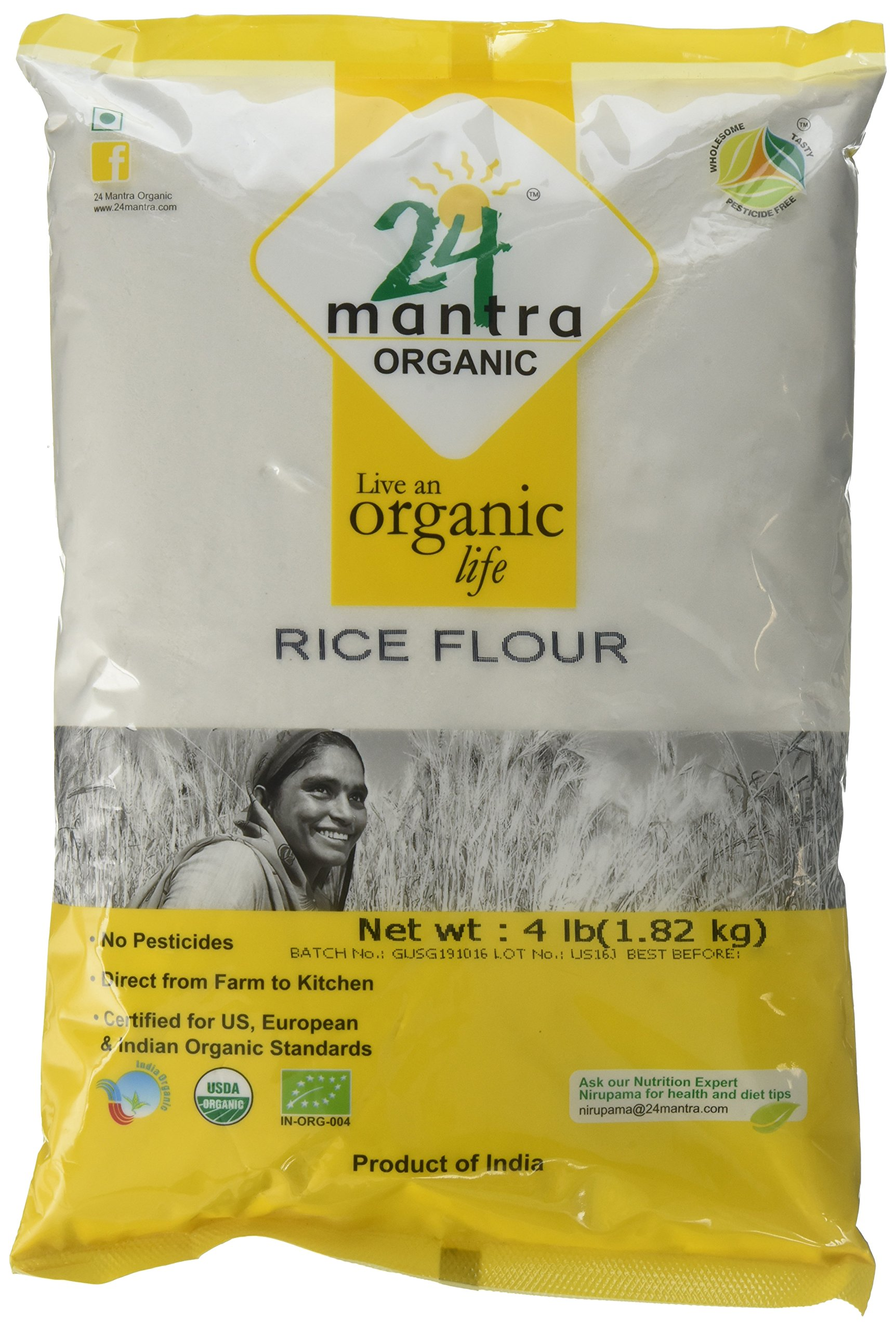 Amazon.com : Organic Whole Wheat Flour (Atta) - 10 Lbs
