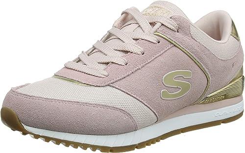 NEU SKECHERS Damen Sneakers Turnschuh Jogging Memory Foam SUNLITE REVIVAL Blau
