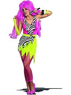 dreamgirl womens 80s punk glam gem jagged rock star diy costume