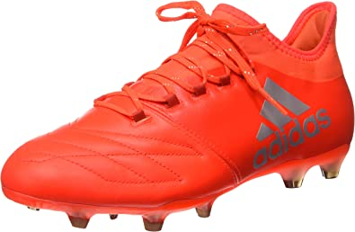 Adidas X 16.2 Fg Leather, Chaussures de Football Homme, Noir