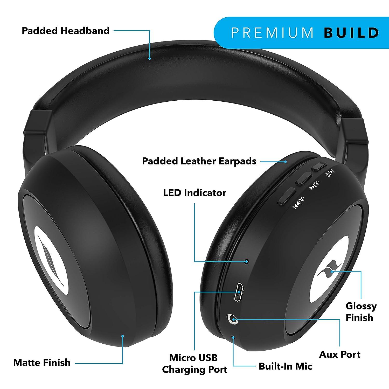 Leaf Bass 2 Wireless Bluetooth Headphon