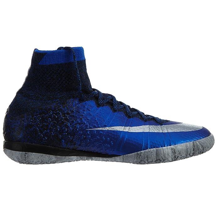 cheap for discount ae30f b612a Amazon.com | Nike MercurialX Proximo Ronaldo Indoor Shoes [DEEP Royal Blue]  (10) | Soccer