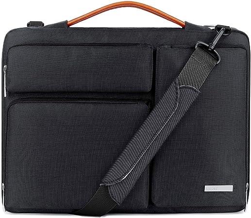 Donkey Art Glasses Laptop Shoulder Messenger Bag Case Sleeve for 14 Inch to 15.6 Inch with Adjustable Notebook Shoulder Strap