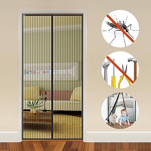 8 opinioni per Auxent tenda magnetica per le porte con dimensioni 100 x 220CM, Tenda a Mano con