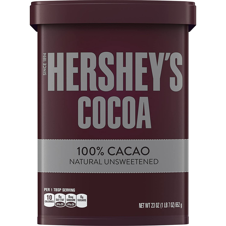 Amazon.com : HERSHEY'S Natural Unsweetened 100% Cocoa, Baking ...