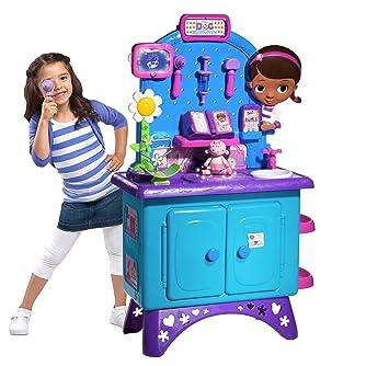 Amazon Com Doc Mcstuffins Get Better Checkup Center Playset Toys