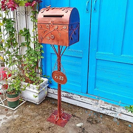 fenghgox2 - Cajas de Hierro Forjado para Suelo de jardín, para jardinería, paisajismo, Caja de Herramientas: Amazon.es: Jardín