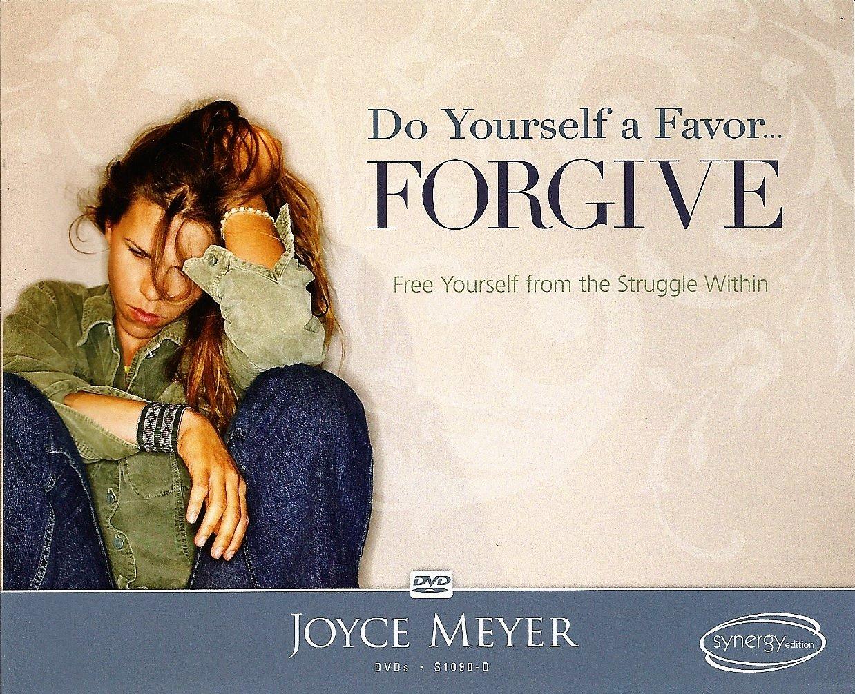 Amazon com: Joyce Meyer -- Do Yourelf a Favor     Forgive