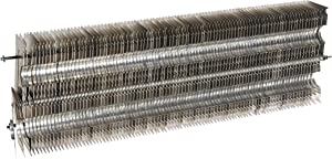 """FABTEK FCLC-2 Fin Clamp Hydronic Baseboard Element Additional Fins, 2' Section For 1-1/4"""" Copper"""