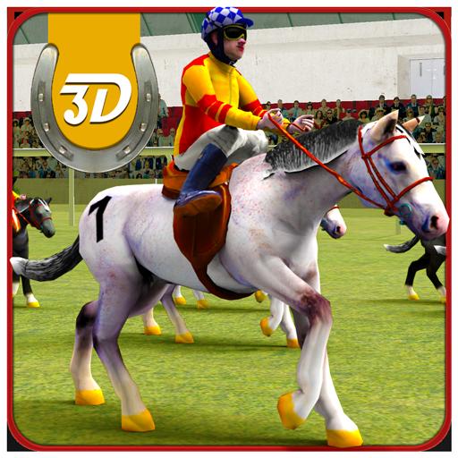Horse Racing Simulator 3D - Horse Games Free