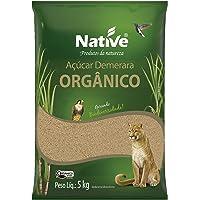 Açúcar Demerara Orgânico 5Kg Native