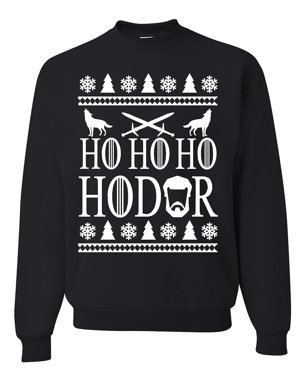 Ho Ho Ho HODOR Ugly Christmas Sweatshirts