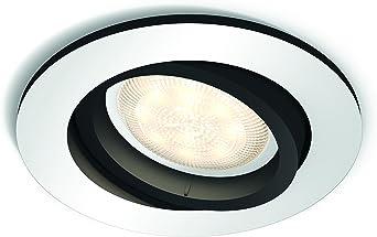 Philips Hue Foco LED empotrable Milliskin (5,5 W, Color de