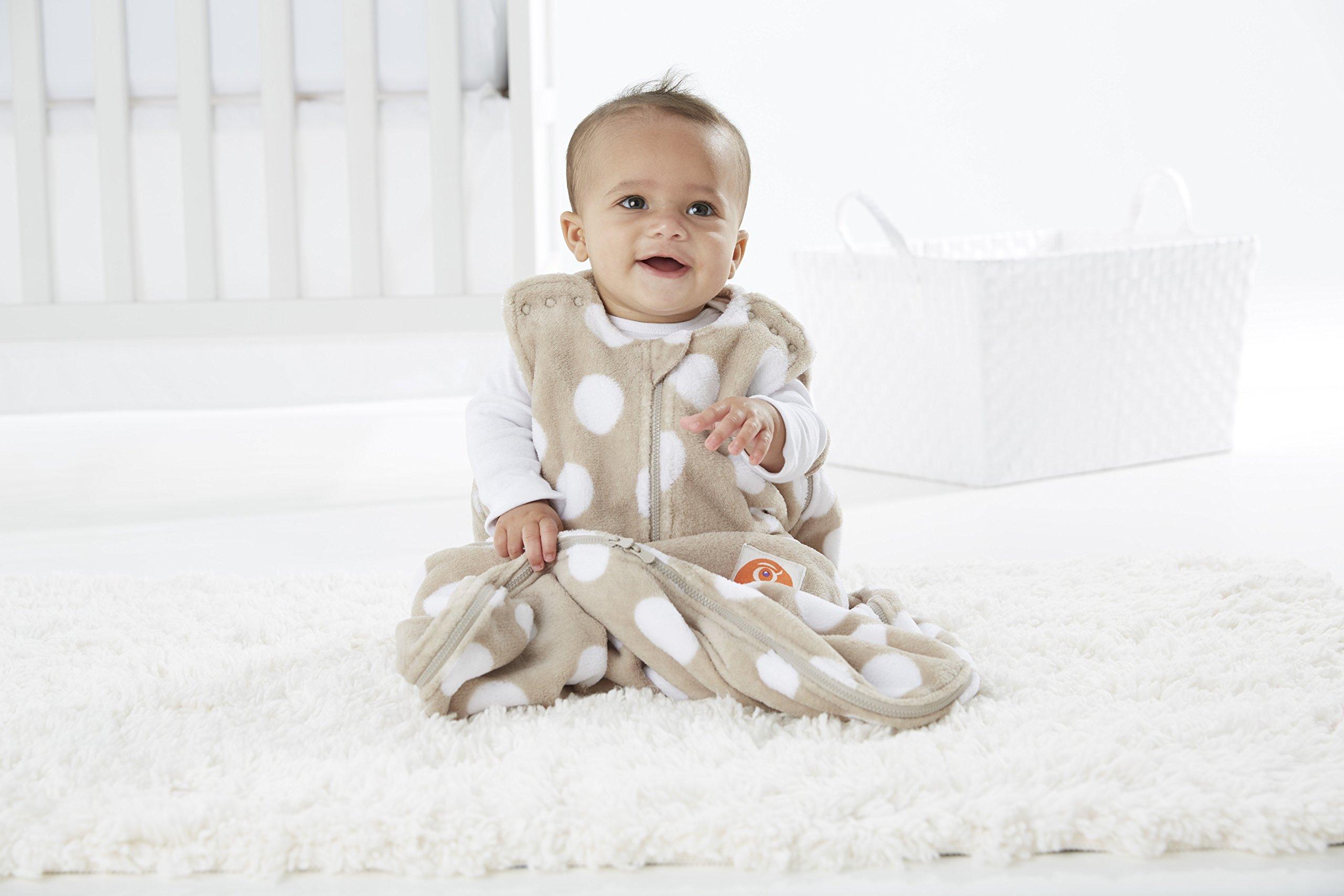 Gunapod Unisex Sleep Sack Fleece Wearable Blanket Baby Sleeping Bag with WONDERZiP