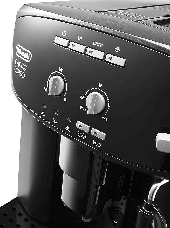 DeLonghi ESAM 2600 - Cafetera superautomática, 15 bar de presión, dispositivo cappuccino ajustable, limpieza automática, negro: Amazon.es: Hogar