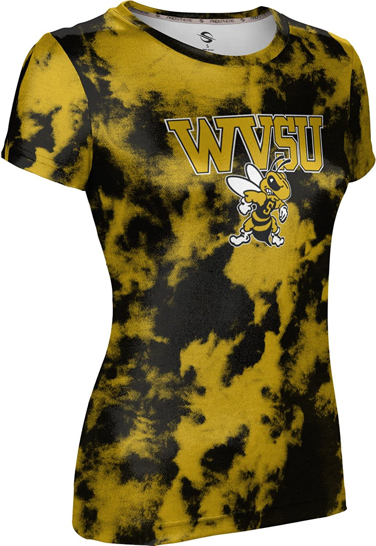 ProSphere West Virginia State University Girls Performance T-Shirt Grunge