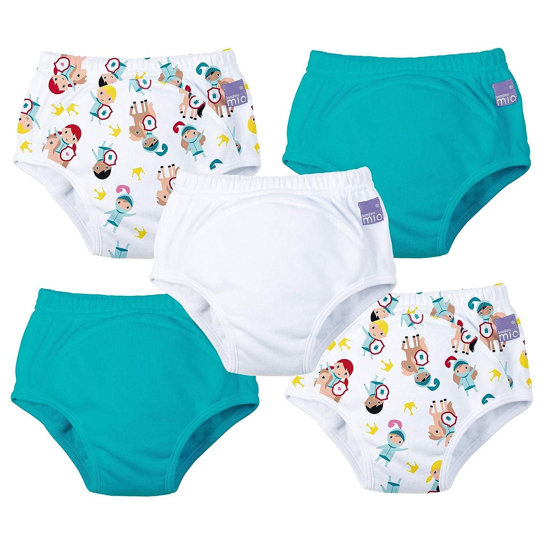 Bambino Mio 5 pack 2-3 years mixed girl potty training pants