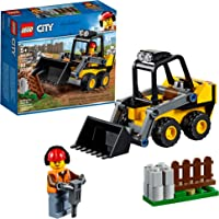 LEGO City Great Vehicles Construction Loader 60219 Building Kit , New 2019 (88 Piece)