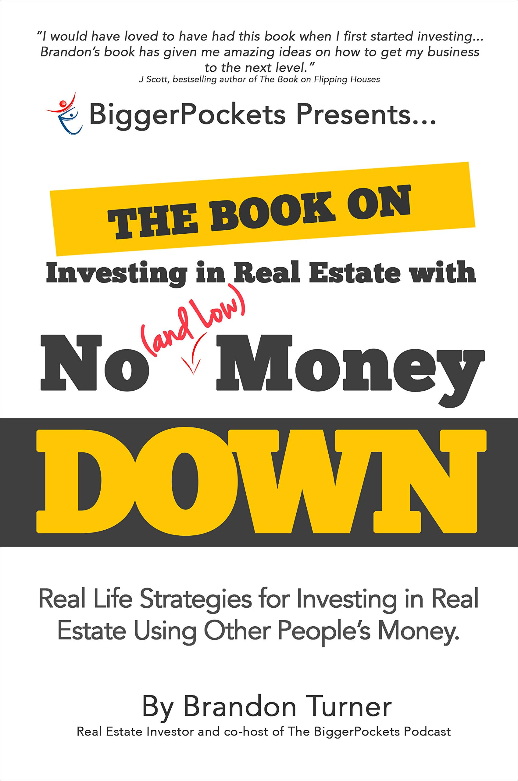 Book on Investing in Real Estate with No (and Low) Money Down book front cover