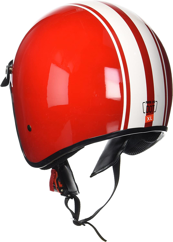 "ARMORHELMETS/® AV-47 /""Black Matt/"" /· Jet-Helm /· Motorrad-Helm Roller-Helm Scooter-Helm Bobber Mofa-Helm Chopper Retro Cruiser Vintage Pilot Biker Helmet /· DOT Schnellverschluss Tasche S 55-56cm"