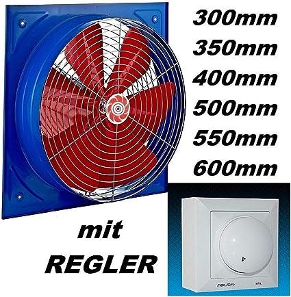 regolatore di velocità ventole Parete Muro Ventilatore Ventilatore Ventilatore ASSIALE 550mm