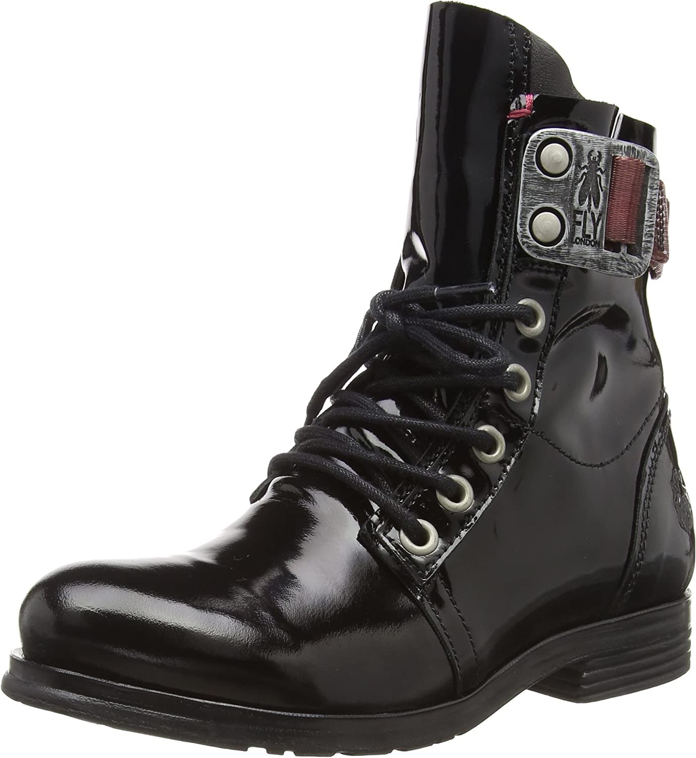 Fly London Stay, Botas Militar para Mujer