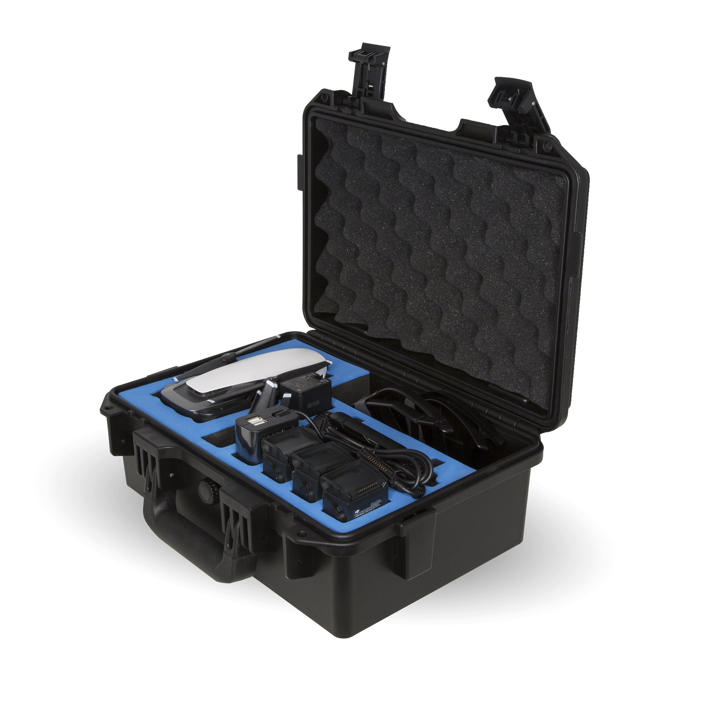 Ultimaxx Waterproof Rugged Compact Travel Storage Hard Case for DJI Mavic Air Drone and Additional Accessories